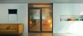 Glasskonstruksjoner og motstand mot brann