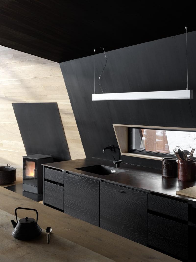 Kjøkkenet i Black Lodge